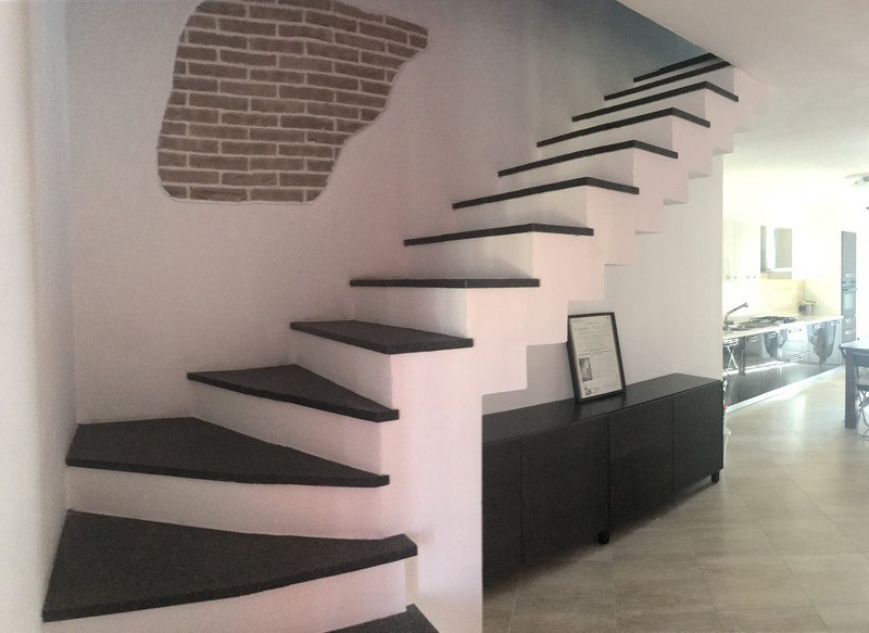 Appartamento in alessandria in affitto su due livelli con - Scale interne in poco spazio ...
